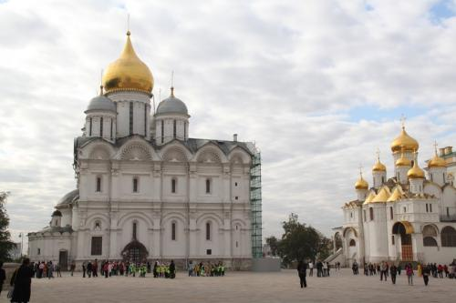 Moskou - Dormition Cathedral