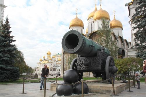 Moskou - kremlin kanon