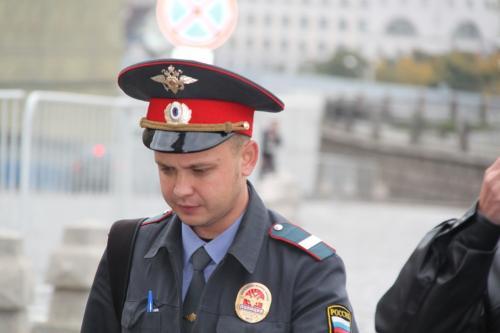 Moskou - politieagenten