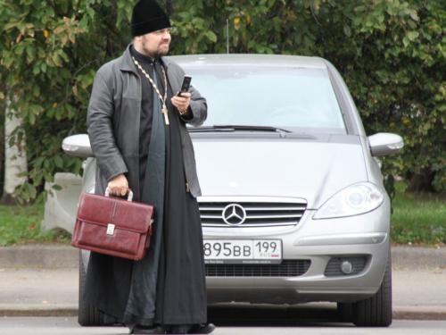 Moskou - priester
