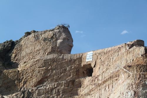 Mt Rushmore - Crazy horse