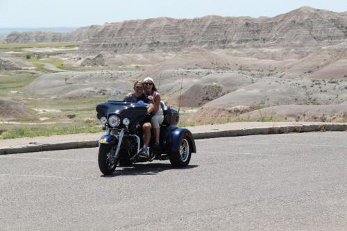 Mt Rushmore - bikers dédé en erwin