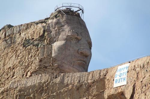 Mt Rushmore - head vrazy horse