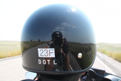 Mt Rushmore - weerspiegeling helm