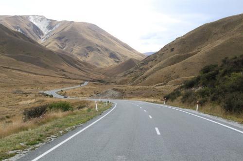 NZ - Gele heuvels