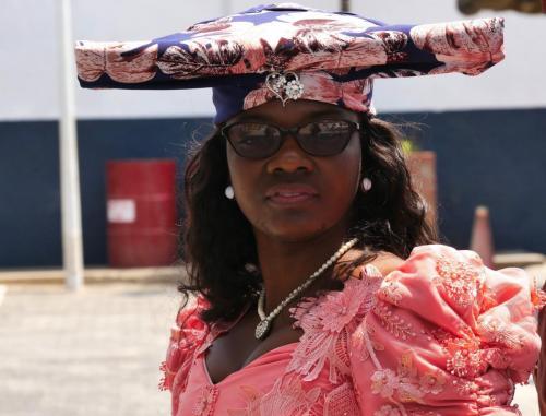 Namibian lady