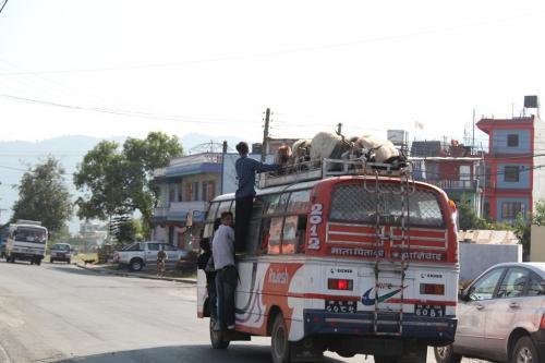 Nepal - Openbare bus