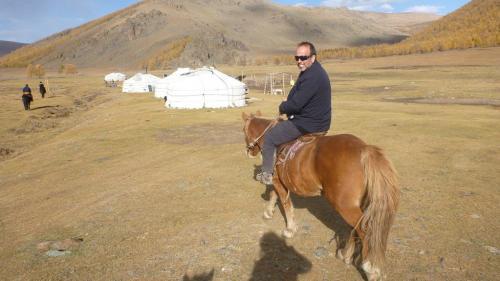 Nomaden - Erwin te paard