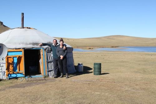 Nomaden - Ger tent feature foto