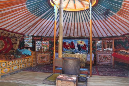 Nomaden - Onze Ger tent