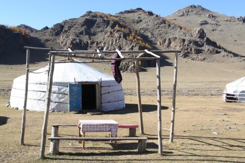 Nomaden - Picnic tafel