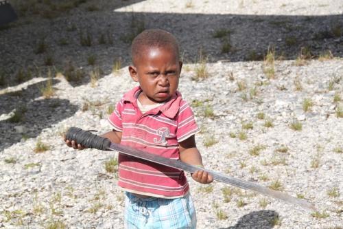 PNG - kind krijger