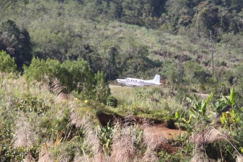 PNG - vertrek vlucht
