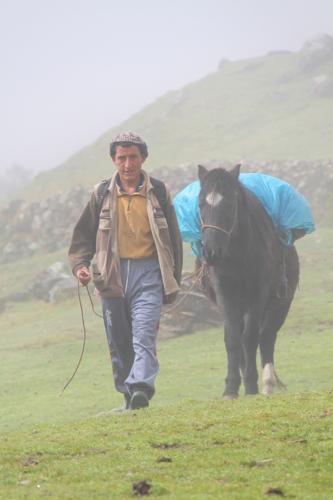Peru - Indigenous met paard