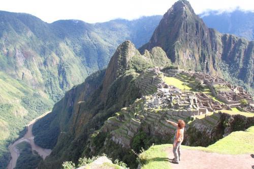 Peru - MachuPicchu & dédé