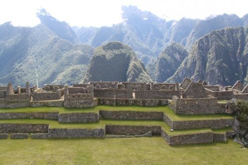 Peru - MachuPicchu houses