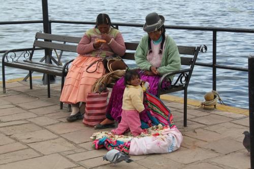 Peru -  Puno harbour