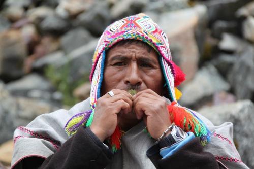 Peru - Shaman gebed