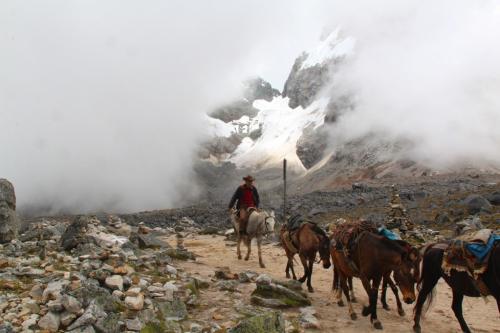 Peru - Transport onze bagage