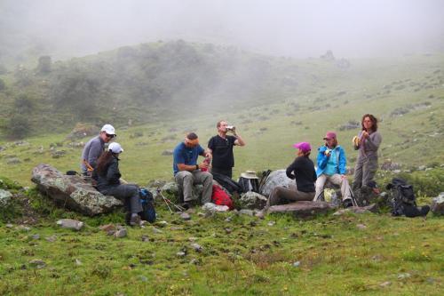 Peru - Trekking pauze