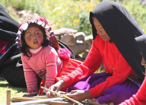 Peru - Weven en kind