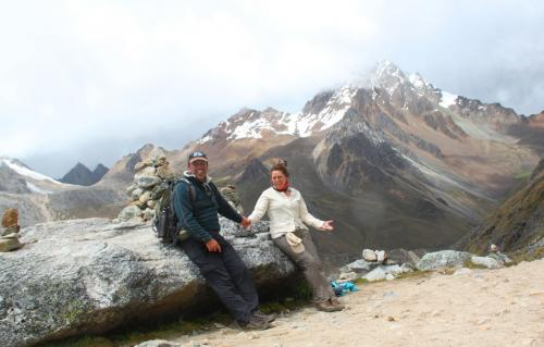 Peru - Wij op top 4637mtr