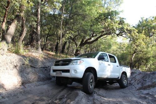 QLD - Fraser Binnenland jeep