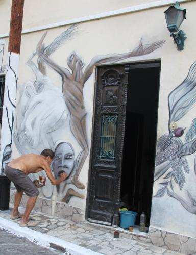 Rio - Muros painting