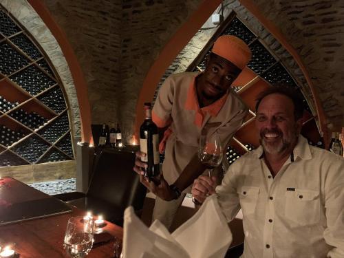 Sommelier Wine cellar