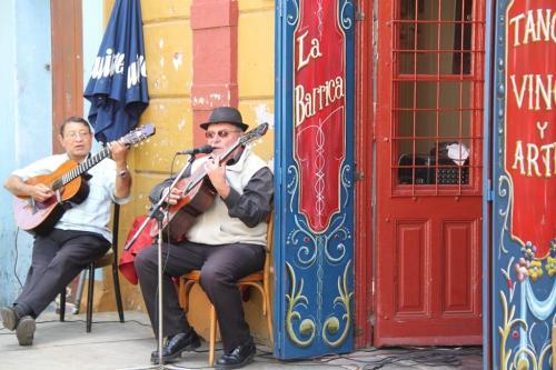 Tango - Buenos Aires musicians