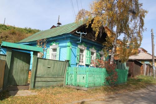 Trans Siberian - kleurrijk huis