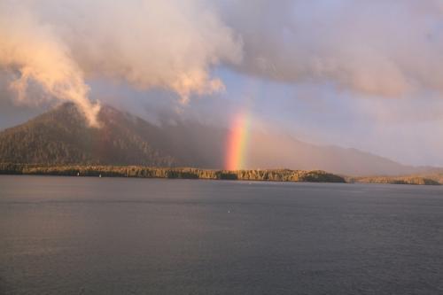 Vancouver island - regenboog