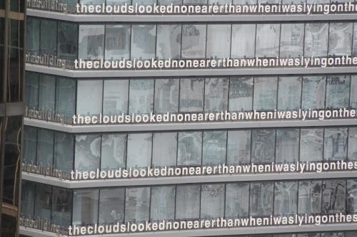 Vancouver - tekst gebouw