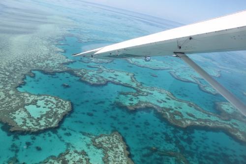 Whitsundays - panorama flight