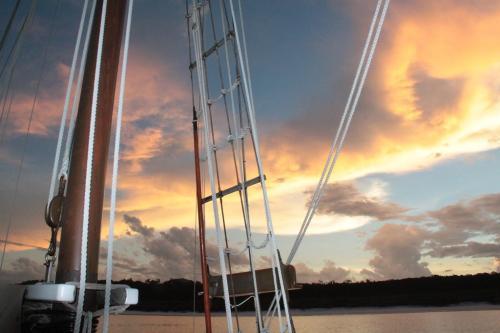 Whitsundays - zon en bewolking