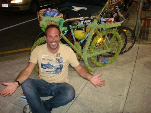 Adelaide - groene fiets