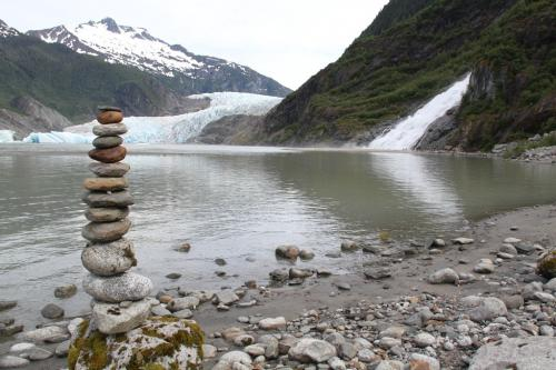 Alaskandream - Glacier waterfall mendenhall