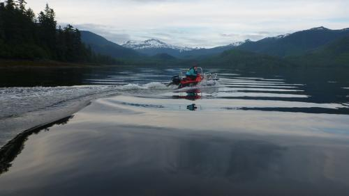Alaskandream - boat dede