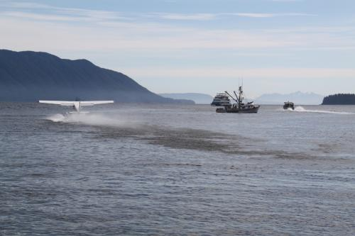 Alaskandream - lake eva plane