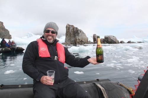 Antarctica - Champagne Cierva Cove