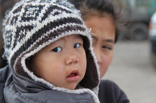 Arctic - baby eskimo