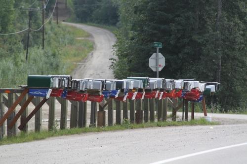 Arctic - postbus chen highway