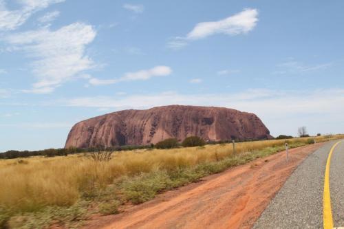 Ayers Rock - woestijnreus
