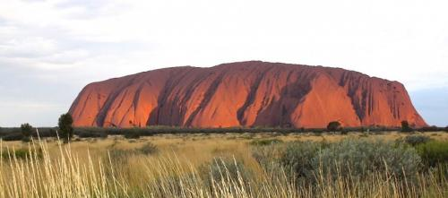 Ayers Rock - zonsondergang