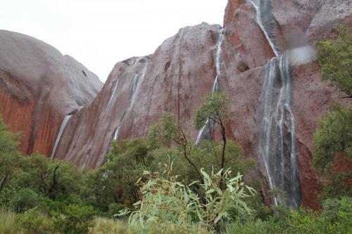 Ayers rock - watervallen Uluru