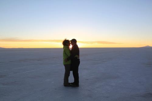Bolivia - Afscheid salt flat