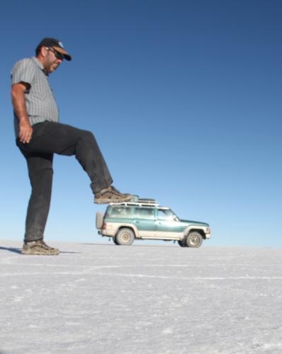 Bolivia -  Salt flat 4WD