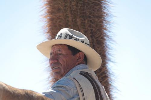 Bolivia - portret man