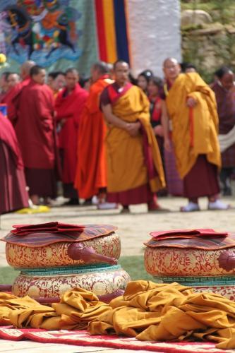 Buthan - Instrumenten blessing Paro