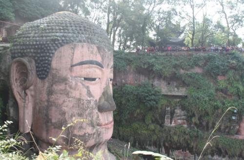 Chengdu - Head of Buddha